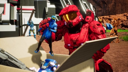 Red vs Blue - Prepare for Master Chiefs Arrival