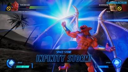 Marvel vs. Capcom: Infinite - Captain America & Firebrand vs. Hulk & Morrigan