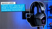 Trust GXT 450 Blizz Headset - Quicklook