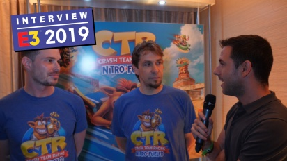 Crash Team Racing Nitro-Fueled - Wawancara Stephane Gravel & Andrew Petrie