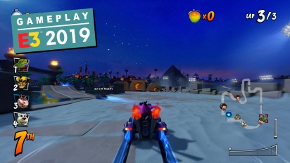 Crash Team Racing Nitro-Fueled - Gameplay: Jungle Boogie & Twilight Tour