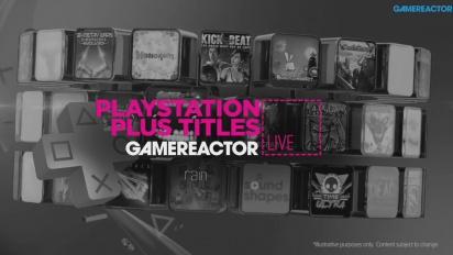 PS Plus Titles - livestream Replay