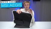 MSI Aegis 3 - Quick Look