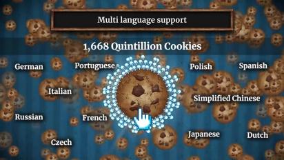 Cookie Clicker - Trailer Steam