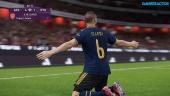 eFootball PES 2020 DP6 - myClub Co-Op Online Gameplay -  Arsenal vs Liverpool