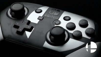 Pro Controller Super Smash Bros. Ultimate Edition - Reveal Trailer