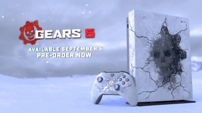 Gears 5 - Introducing the Xbox One X Gears 5 Limited Edition Bundle
