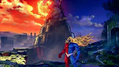 Street Fighter V: Champion Edition - Gill Gameplay Trailer