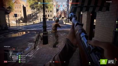 Battlefield V - RTX Rotterdam Gameplay