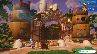 Mario + Rabbids Kingdom Battle - Donkey Kong DLC Gameplay
