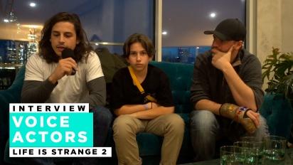 Life is Strange 2 - Wawancara Roman George, Gonzalo Martin, dan Phil Bache