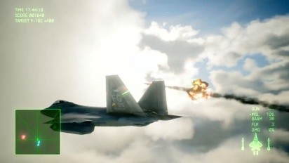Ace Combat 7: Skies Unknown - F-22A Aircraft Focus Trailer