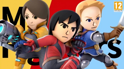 Super Smash Bros. Ultimate – Mii Fighter Costumes #1 Trailer