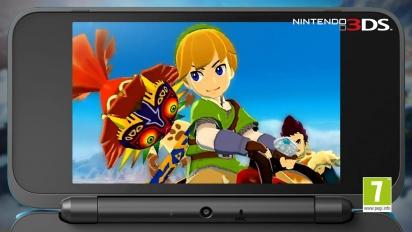 Monster Hunter Stories - The Legend of Zelda Collaboration
