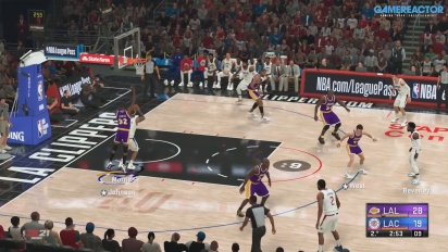 NBA 2K21 - Milwaukee Bucks, LA Clippers, dan LA Lakers Gameplay