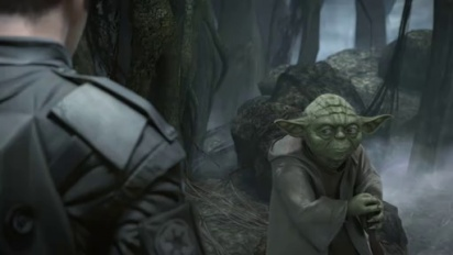 Star Wars: The Force Unleashed II - Yoda's sequence
