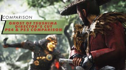 Ghost of Tsushima - Perbandingan PS4 & PS5