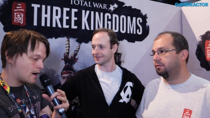 Total War: Three Kingdoms - Wawancara Janos Gaspar & Simon Mann
