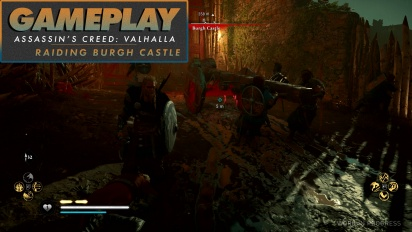 Assassin's Creed Valhalla - Gameplay #3 Menyerbu Burgh Castle