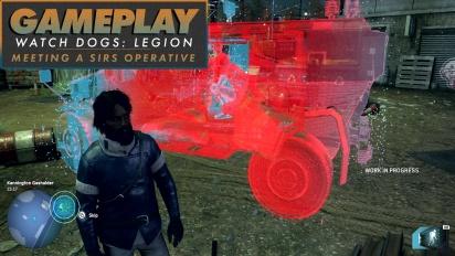Watch Dogs: Legion - Gameplay: Bertemu Seorang Operatif SIRS