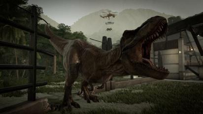 Jurassic World Evolution - Life Finds A Way Trailer