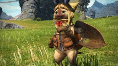 Final Fantasy XIV - Monster Hunter: World Collaboration Trailer