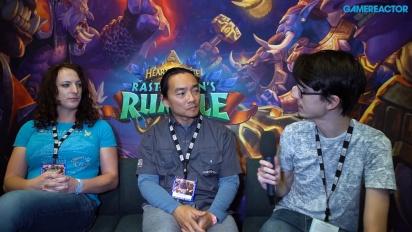Hearthstone: Rastakhan's Rumble - Wawancara Seyil Yoon dan Liv Breeden