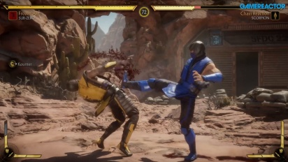 Mortal Kombat 11 - Gameplay: Sub-Zero, Scorpion, dan Sonya