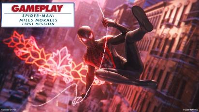 Spider-Man: Miles Morales - Gameplay Misi Pertama - dengan ray-tracing
