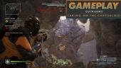 Outriders - Rekaman Gameplay Melawan Bos Chrysaloid