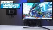 Samsung Odyssey G7 - Quick Look