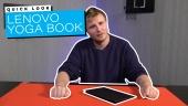 Lenovo Yoga Book - Quick Look