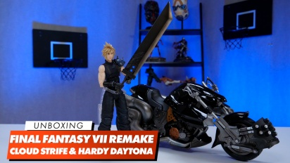 Play Arts Kai - Unboxing Cloud Strife & Hardy Daytona
