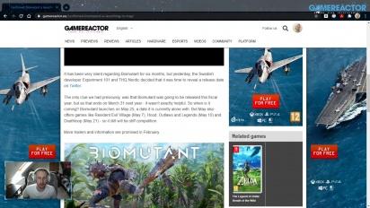 GRTV News - Biomutant dapatkan tanggal rilis