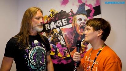 Rage 2 - Wawancara Magnus Nedfors di E3