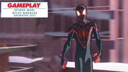 Spider-Man: Miles Morales - Animated suit - Rekaman Gameplay