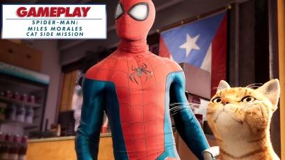 Spider-Man: Miles Morales - Spider-Cat side mission - Rekaman Gameplay