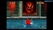 Super Mario 64 di Nintendo Switch: Lethal Lava Land Gameplay