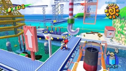 Super Mario Sunshine di Nintendo Switch: Ricco Harbor Gameplay