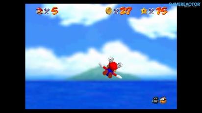 Super Mario 64 di Nintendo Switch: Bob-Omb Battlefield Gameplay