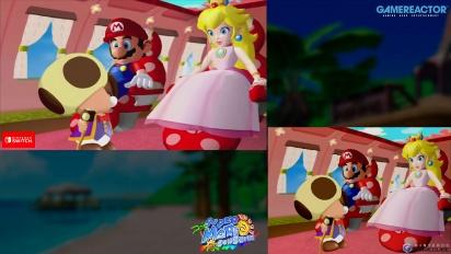 Super Mario Sunshine: Gamecube VS Switch Graphics Comparison