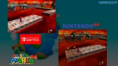 Super Mario 64: Perbandingan Grafis Nintendo 64 VS Switch