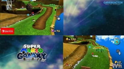 Super Mario Galaxy: Perbandingan Grafis Wii VS Switch