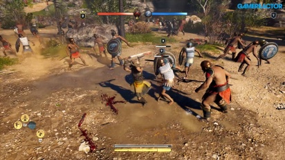 Assassin's Creed Odyssey - Megaris Conquest Battle Gameplay
