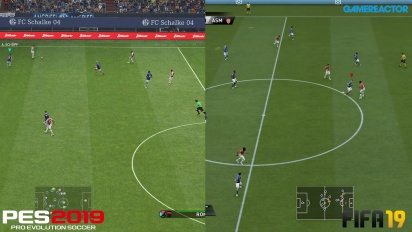 FIFA 19 vs PES 2019 - Perbandingan Grafis Full-HD