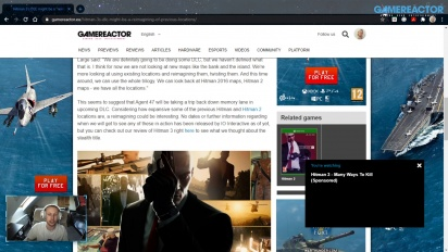GRTV News - DLC Hitman 3 kemungkinan berisi lokasi-lokasi dari Hitman 1 dan 2