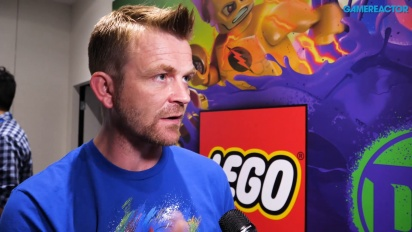 Lego DC Super Villains - Wawancara Arthur Parsons