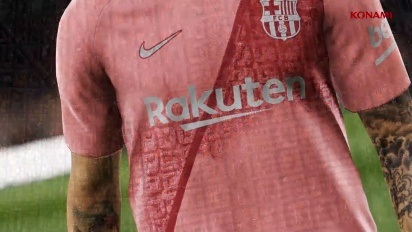 PES 2019 - FC Barcelona Third Kit Reveal