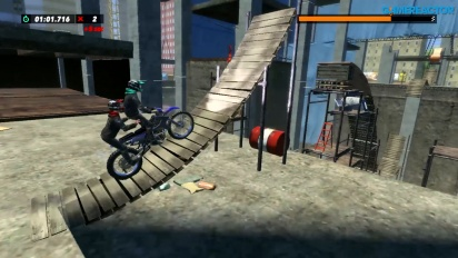 Trials Rising - Gameplay di Switch