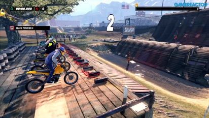Trials Rising - Gameplay di PS4